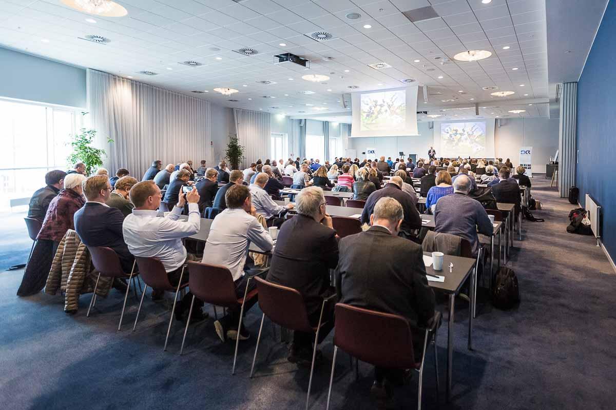 gruppe ved konference
