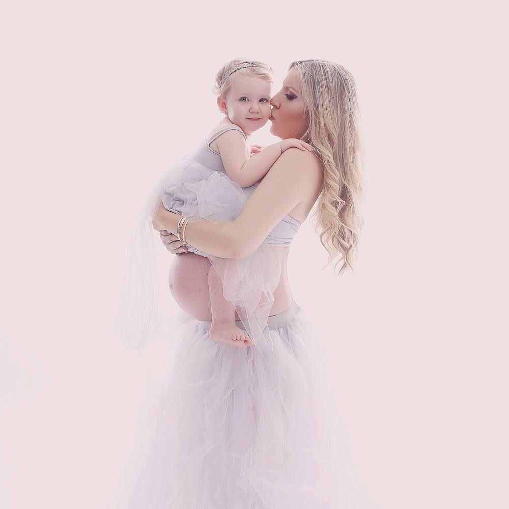 kjole til gravid fotografering Esbjerg