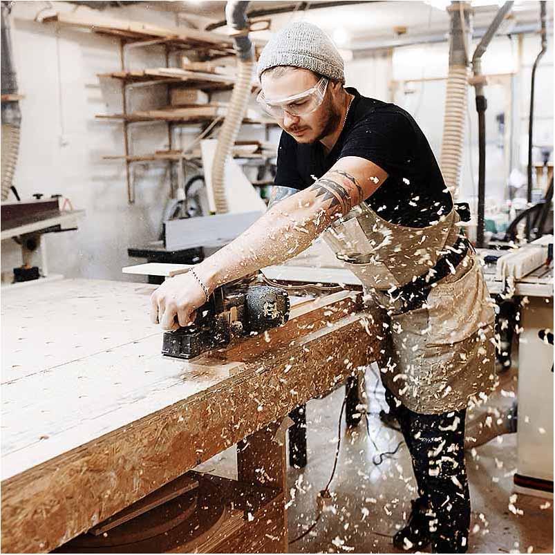 firma foto ved snedker Esbjerg