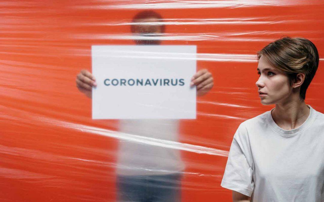 Fotografering af Corona virus